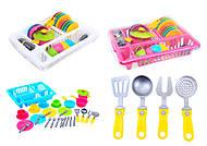 Кухонный набор посуды для детей, 3282, фото