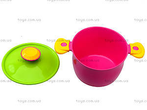 Кухонный набор посуды для детей, 3282, детские игрушки