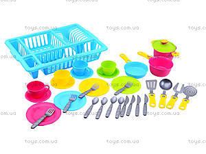 Кухонный набор посуды для детей, 3282, toys
