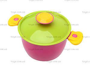 Кухонный набор посуды с плитой, 3572, игрушки