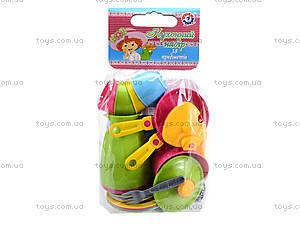 Кухонный набор детской посудки, 3589, іграшки