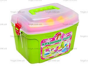 Кухонный набор с игрушечной посудой, 3596, цена