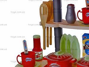 Кухонный набор с музыкальными эффектами, WD-B15, детские игрушки
