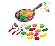 Кухонный набор «Сковородка с продуктами», NF591-4, купить