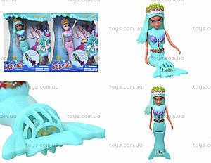 Кукла-русалка Narissa в коробке, плавает, 4444