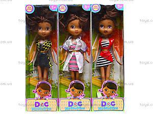 Кукла из мультика «Доктор Плюшева», 6630A, игрушки