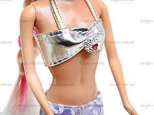Детская кукла-русалка с аксессуарами, 6051, купить