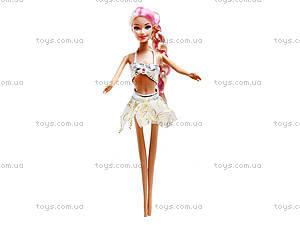 Детская кукла-русалка с аксессуарами, 6051, цена