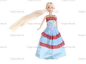 Детская кукла с длинными волосами, A383-C123, фото