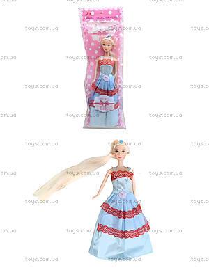 Детская кукла с длинными волосами, A383-C123