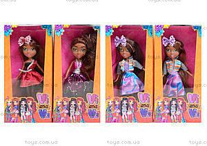 Детская кукла Vi and Va, ZR-668-101102