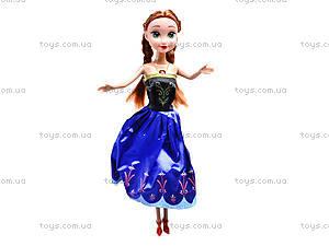 Музыкальная кукла «Холодное сердце», W155B, игрушки