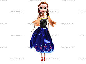 Музыкальная кукла «Холодное сердце», W155B, магазин игрушек