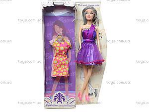 Кукла с нарядом, меняет цвет волос, JJ8581-2, отзывы