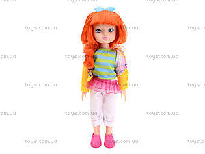 Детская кукла Angela с заколками, 1403N, фото