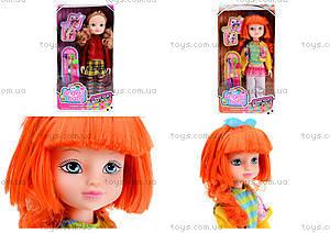 Детская кукла Angela с заколками, 1403N