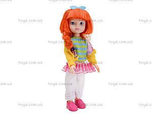 Детская кукла Angela с заколками, 1403N, детские игрушки