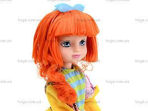 Детская кукла Angela с заколками, 1403N, магазин игрушек
