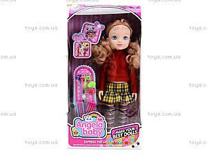 Детская кукла Angela с заколками, 1403N, toys.com.ua