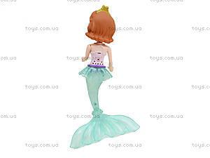 Кукла-русалка со световыми эффектами, KQ024-CD, цена