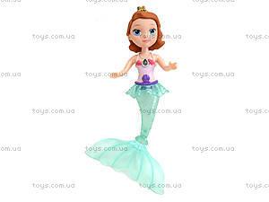 Кукла-русалка со световыми эффектами, KQ024-CD, детские игрушки