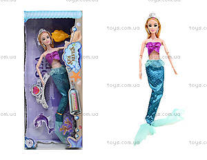 Кукла-русалка с набором украшений, 212B