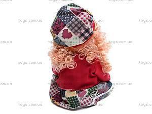 Кукла Алина с рюкзачком, 5075, фото