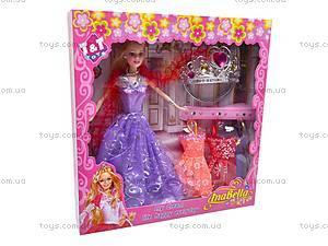 Кукла «Анабелла» с аксессуарами, TT2011-7, игрушки