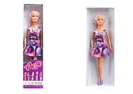 Набор с куклой «Блондинка в платье со стразами», 35052, фото