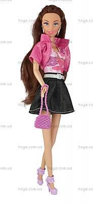 Кукла Ася брюнетка в джинсах, 35090, купить