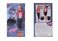 Набор с куклой блондинкой «Джинсовый стиль», 35061, цена