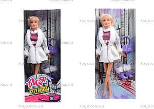 Кукла в полосатом платье «Городской стиль», 35067