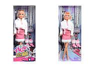 Кукла в розовом платье «Городской стиль», 35068, купить