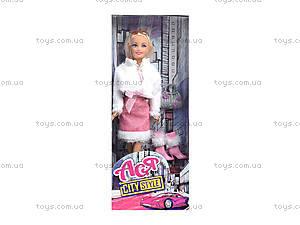 Кукла в розовом платье «Городской стиль», 35068, цена
