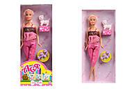 Детская кукла серии «Прогулка с собачкой», 35059, іграшки
