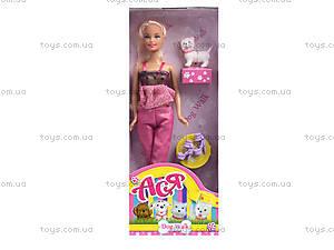 Детская кукла серии «Прогулка с собачкой», 35059, отзывы
