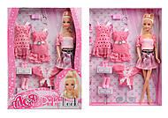 Набор с куклой «Розовый стиль», 35080, отзывы