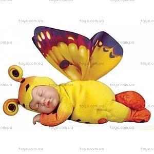 Кукла-бабочка Anne Geddes, желто-оранжевая, 579115-AG