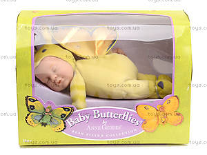 Кукла-бабочка Anne Geddes, ярко-зеленая, 579117-AG, фото