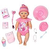 Кукла Baby Born «Очаровательная малышка», с аксессуарами, 822005, купить