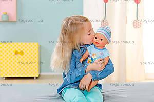 Кукла Baby Born «Очаровательный малыш», с чипом, 822012, купить