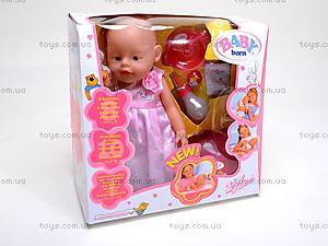 Кукла Baby Doll, с аксессуарами, 80058B