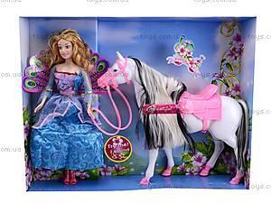 Кукла Барби с лошадью, 899-2, фото