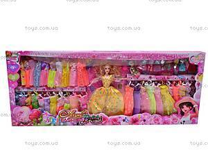 Кукла «Барби» с набором одежды, 5885E, детские игрушки