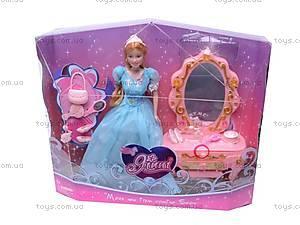 Кукла «Барби», с туалетным столиком, 83143, игрушки