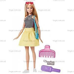 Кукла Barbie «Модная трансформация», DMB30, игрушки