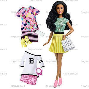 Кукла Barbie «Модница» с одеждой, обновленная, DTD96, купить
