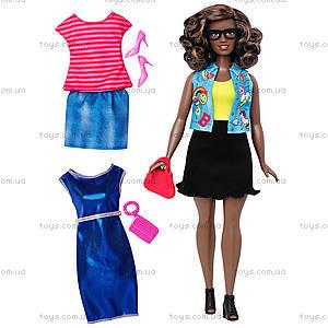 Кукла Barbie «Модница» с одеждой, обновленная, DTD96, фото