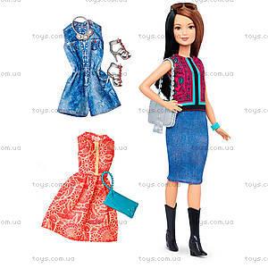 Кукла Barbie «Модница» с одеждой, обновленная, DTD96, отзывы