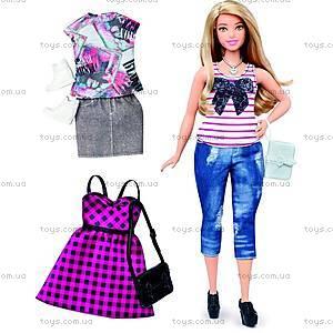 Кукла Barbie «Модница» с одеждой, обновленная, DTD96, цена